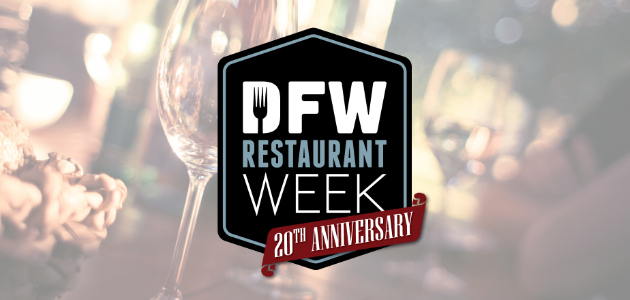 20th Anniversary DFW Restaurant Week